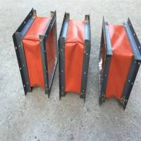 中特厂家支持定制风机软连接帆布耐高温/阻燃软连接